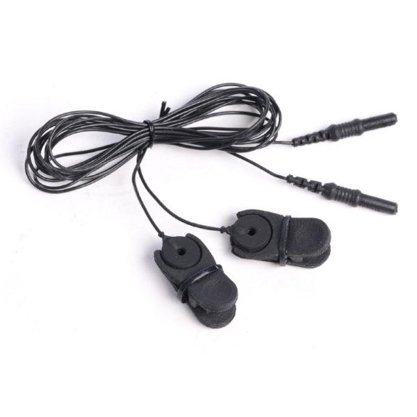 Два ушных адаптера для крепления чашечных ЭЭГ электродов MCScap-NT на ушах.
