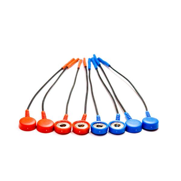 Конекторы для кнопочных электродов ЭМГ